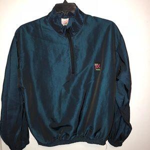 1980s vintage surf style windbreaker jacket